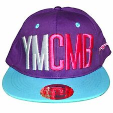 YMCMB - SNAPBACK CAP - ADJUSTABLE SIZE - PURPLE BLUE NEW