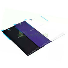OEM Replacement Glass Panel Back Battery Door Rear Cover For Sony Xperia Series