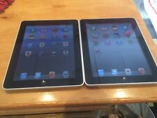 Lots 2 Apple iPad 1st Generation 32GB, Wi-Fi, 9.7in - Black - Good Condition
