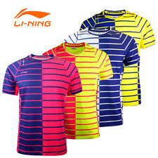 NEW Fashion 2017 Li Ning men's Tops table tennis clothing Badminton Only T-shirt