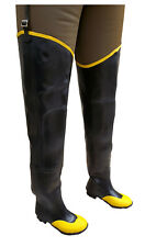 Herco Heavy Duty Steel Toe Rubber Hip Waders
