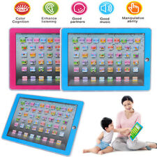 New English Computer Learning Education Tablet Touch Toy Games Gift for Kid DH