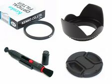 NY10 67mm Lens Hood Cap Cleaning Pen UV Filter For DSLR Digital Camera Camcorder