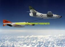 USN Douglas A3D-2 Skywarrior Color Photo Military McDonnell F4H-1F Phantom II