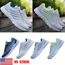 US Men Boys Mesh Breathable Casual Athletic Sneakers Sports Trainers Shoes Size