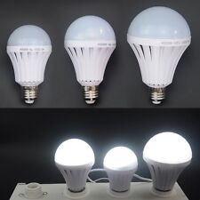 E27 Energy Saving LED Intelligent Emergency Bulb Lamp Light 5/7/9/12/15W 85-265V