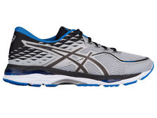NEW MENS ASICS GEL-CUMULUS 19 RUNNING SHOES TRAINERS GREY / BLACK / DIRE 2E-WIDE