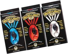 Keychain Personal Safety Micro-Light Flashlight LED Visible 1 Mile Photon II