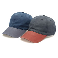 New Patchwork Denim Hip Hop adjustable Snapback Hat All Match Baseball Cap Gift