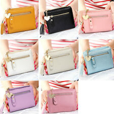 Fashion Women Tassel PU Leather Short Wallet Multi Card Holder Small Purse NEW