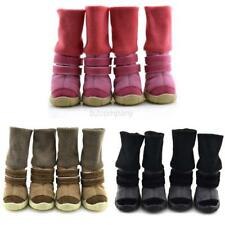 Pet Dog Winter Snow Anti-slip Boots Puppy Cotton Warm Shoes Sneakers Pet Booties