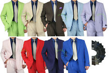 PROMOTION! Sharp 2pc Men 2B. Dress Suit Variety Colors Size 50-62 tb03