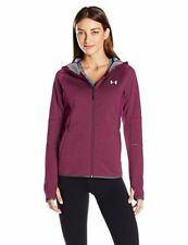 NWT Under Armour Women's Loose Fit Storm1 Full Zip Jacket Maroon Size XS, XL