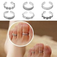 Women Retro Adjustable Open Toe Ring Finger Foot Beach  Fashion Jewelry Charming