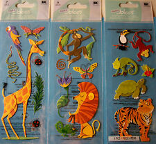 NEW JUNGLE ANIMALS - WILD ANIMALS * Your Choice * Giraffe Parrot Lion  JOLEE'S