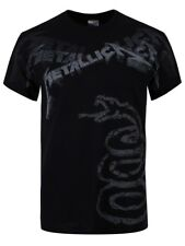 Metallica Black Album Faded Mens T-Shirt - NEW & OFFICIAL