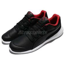 Puma SF Evo Cat Ferrari Black Red Men Motorsport Shoes Sneakers 306009-02