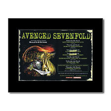 AVENGED SEVENFOLD - UK Tour 2006 Mini Poster