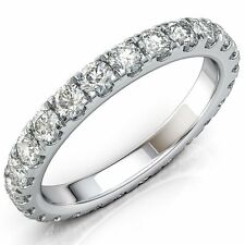 Mens Weddig Bands 8mm Womens Titanium Ring Stacked with Brilliant Cz Stone