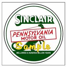 Sinclair Oil Gasoline Vintage Signs Vinyl Sticker Decal Motor Oil Gas Globes