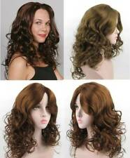 WOMENS LONG WAVY LAYERED BIG LOOSE BOUNCY CURLS SKIN TOP WIG GRACE ALICE GAL