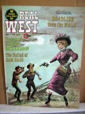 Real West Magazine November 1973 Travels of Albert Richardson, Ballads Sam Bass