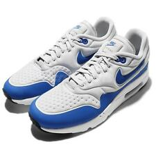Nike Air Max 1 Ultra SE OG Game Royal Blue Grey Mens Running Shoes 845038-004