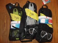 Speedo Dive Hydroscope Mask Snorkel and Fin Brand New Adult Size L/XL (9-13)