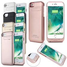 Rechargeable External Charger Power Portable Battery Case Cover for iPhone 8 7 6
