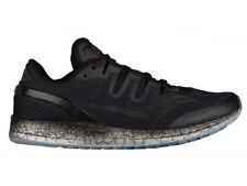 NEW WOMENS SAUCONY FREEDOM ISO RUNNING SHOES BLACK