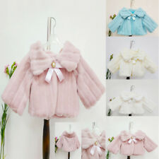 Fashion Newborn Infant Baby Girl Autumn Outerwear Cappa Coat Warm Shawl Clothes
