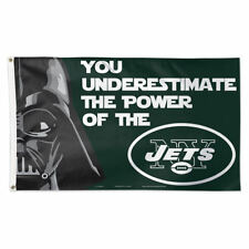 NY Jets Star Wars Flag 3x5 FT Polyester Custom Flag