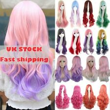 Uk 80Cm Long Straight Wigs Fashion Cosplay Costume Anime Hair Party Full Wigs K6
