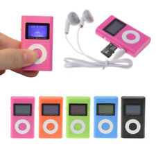 Portable Mini USB Support 32GB Micro SD TF Card LCD Screen Digital MP3 Player
