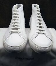 COMMON PROJECTS ORIGINAL ACHILLES  MID  WHITE - BRAND NEW IN BOX  -  1529 X 0506