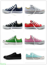 9Women Men ALL STARs Chuck Taylor Ox Low High Top Canvas Sneakers Shoes casual