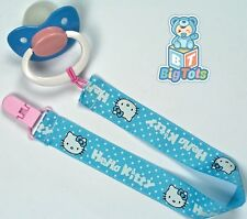 Adult baby Hello Kitty pacifier ABDL blu/pink/wht