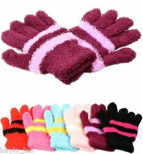 Super Soft 2 Color Chenille Gloves/Hand Warmers *Select One/6 Colors*