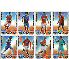 MATCH ATTAX EXTRA 10/11 MAN OF THE MATCH FANS FAVS HAT TRICK HEROS PICK Y OWN