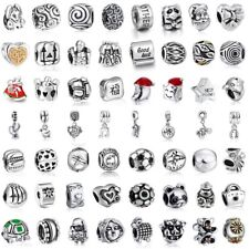 European Pendant Charms Bead Fit Sterling 925 Silver Jewelry Friend Family Gift