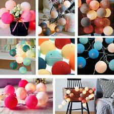 New 20LED Cotton Ball String Light Holiday Wedding Party Christmas SH 01