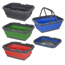 Foldable Laundry Basket Silicone Storage Box Shelf Drawer Collapsible Organizer