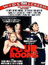 FOUR ROOMS (DVD, 1999) New / Factory Sealed / Free Shipping