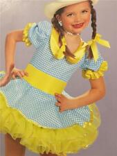 Dance Costume Cowgirl Western Tap Clog Jazz Skate Pageant Dress