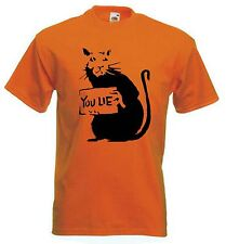BANKSY YOU LIE RAT T-SHIRT - Choice Of Colours, Sizes Small to XXXL