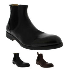 Mens H By Hudson Watchley Calf Leather Smart Formal Ankle Chelsea Boots UK 6-12
