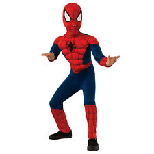 Boys Marvel Ultimate Spider-Man Muscle Chest Halloween Costume - Child Size