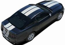 """Hood Racing Stripes 10"""" Wide Decals GT 3M Pro Vinyl fits 2013-2014 Ford Mustang"""