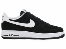 NEW MENS NIKE AIR FORCE 1 LOW BASKETBALL SHOES TRAINERS BLACK / WHITE