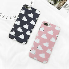 Cartoon Cute Rabbit Phone Case For iPhone 6 6S 7 8 Plus Hot Soft IMD Back Cover